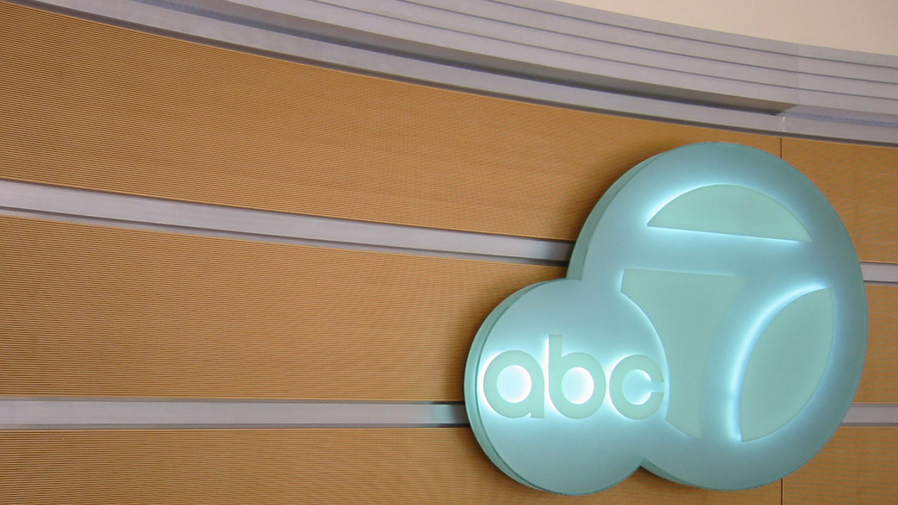 Lighted ABC7 Sign