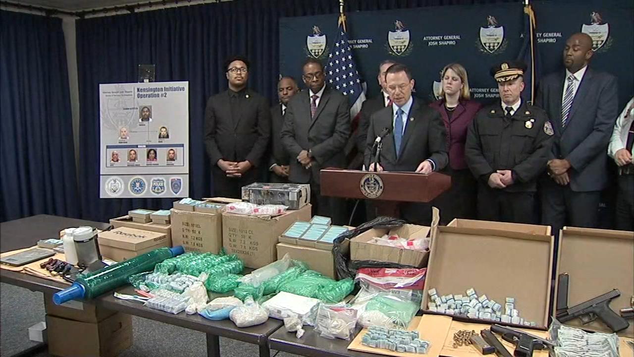 Multi-million dollar drug bust in Kensington nets 11 arrests