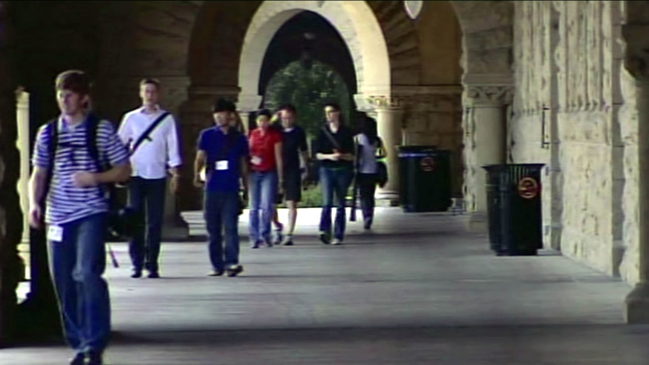 Students at Stanford University.
