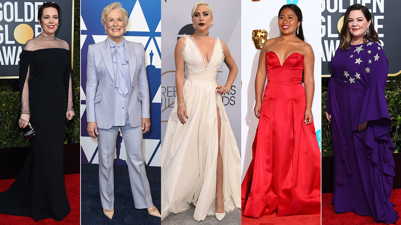 What will they wear? Best Actress nominee fashion