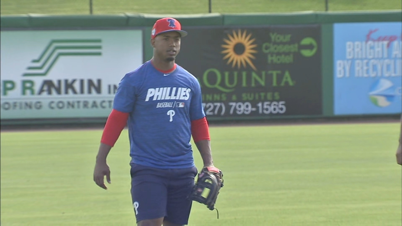 All-star Jean Segura arrives at Phillies spring training in ...