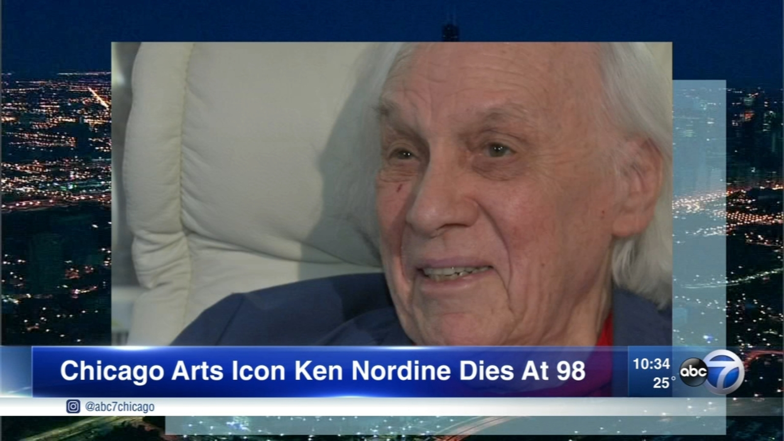 Ken Nordine, 'The Voice' and 'Word Jazz' creator, dies at 98