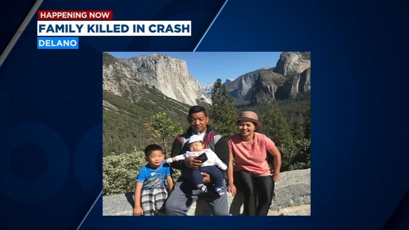 Five killed in Highway 99 crash in Delano