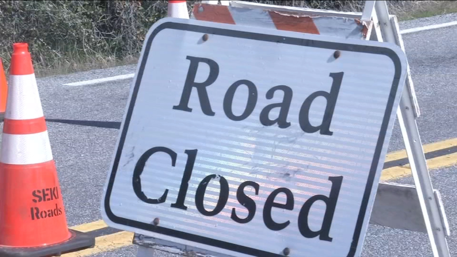 Severe weather to shut down part of Generals Highway at 3 p.m.
