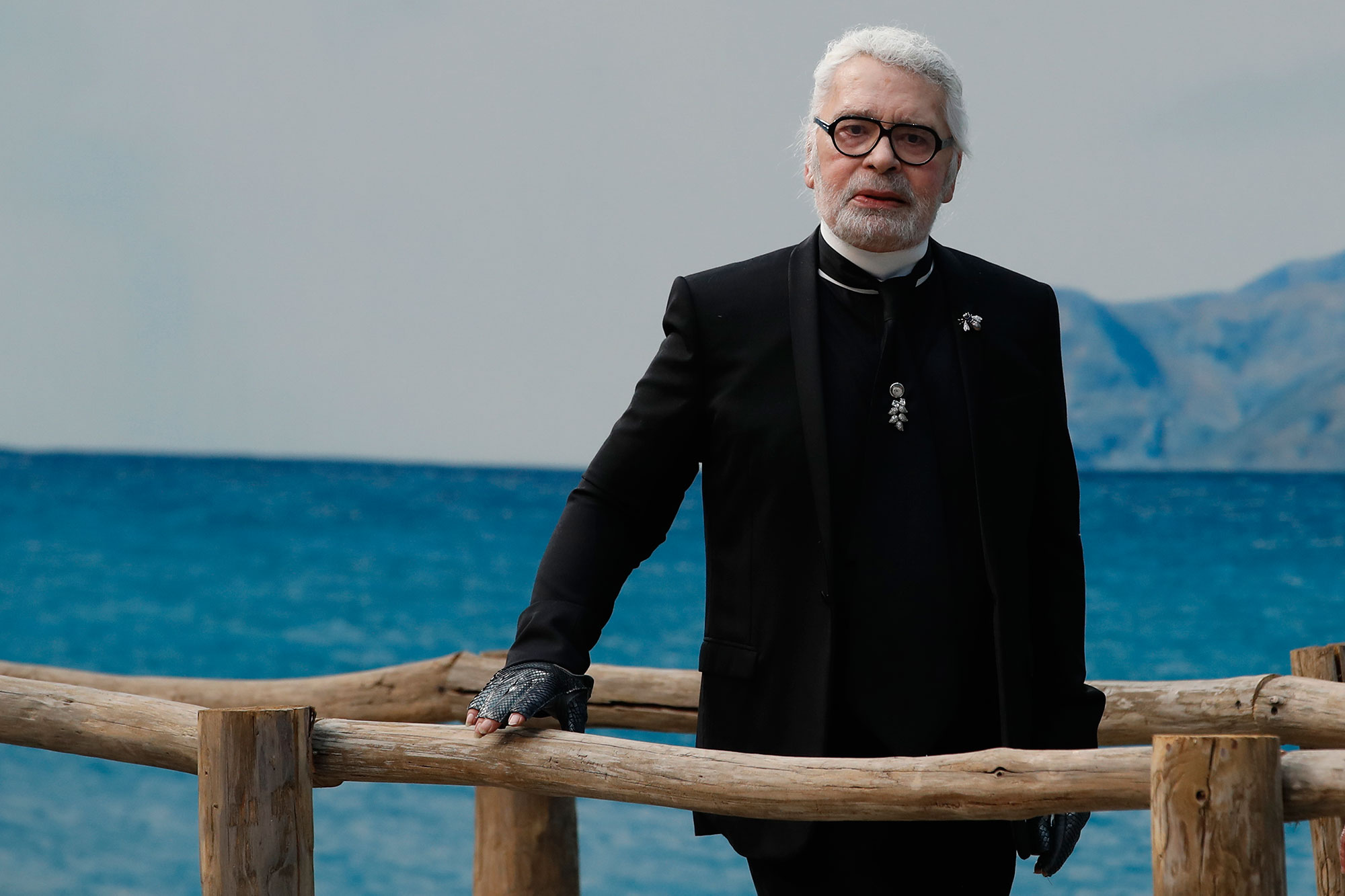 <div class='meta'><div class='origin-logo' data-origin='none'></div><span class='caption-text' data-credit='Christophe Ena/AP Photo'>Karl Lagerfeld, a Chanel fashion icon, has died.</span></div>