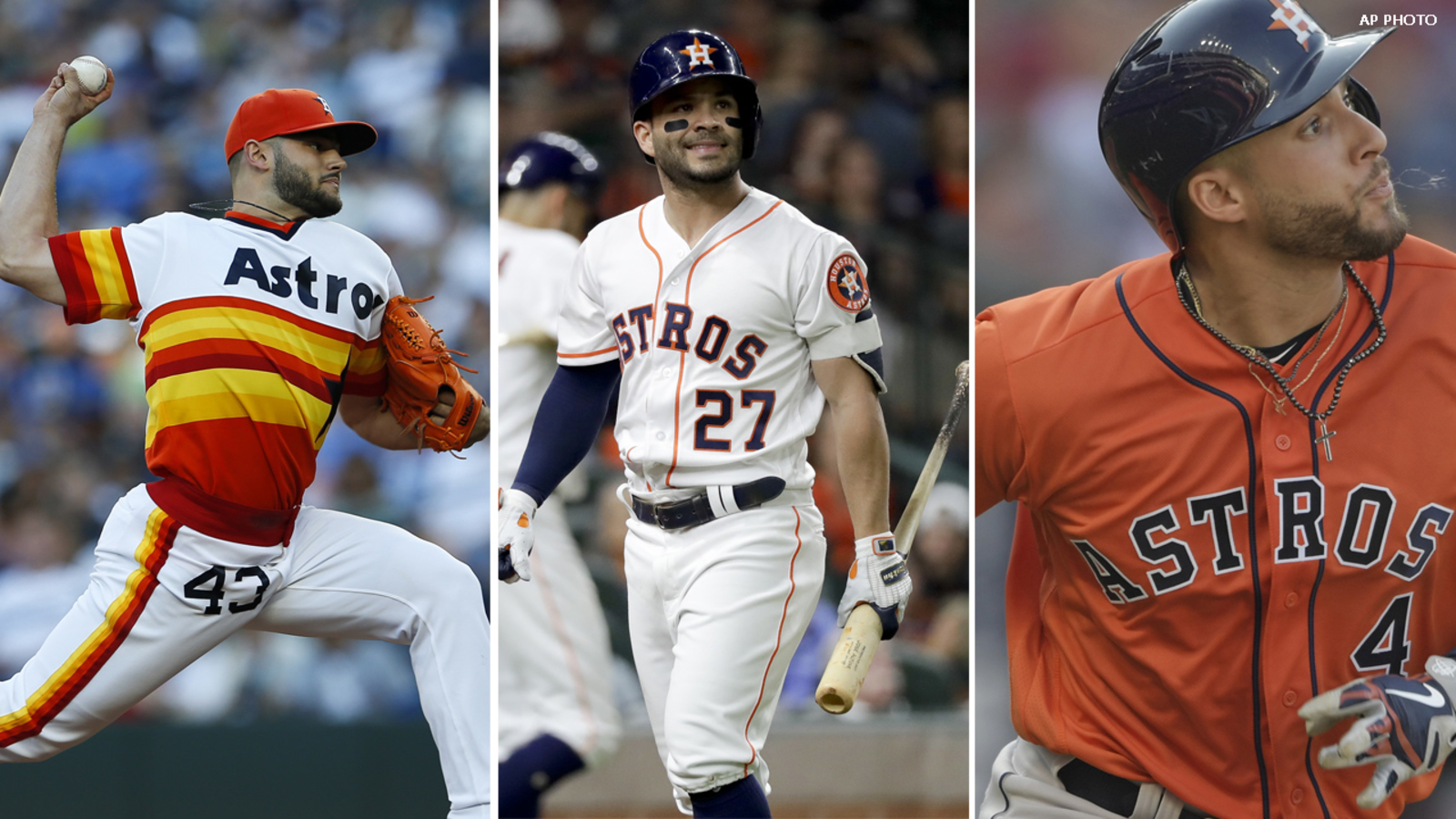 2fca964df Houston Astros have the best uniform in baseball: MLB | abc13.com