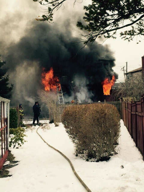 """<div class=""""meta image-caption""""><div class=""""origin-logo origin-image none""""><span>none</span></div><span class=""""caption-text"""">A home on Long Island was gutted by a fire Thursday morning</span></div>"""