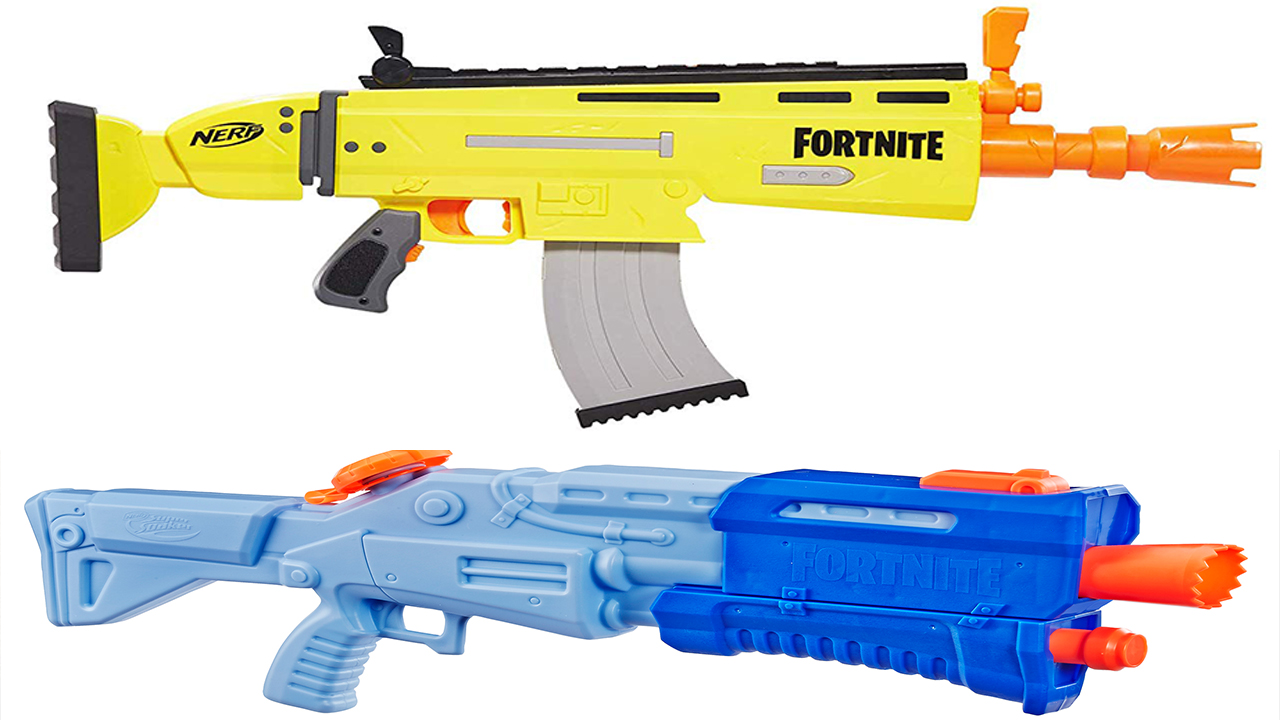 Fortnite And Nerf Join Forces  Blasters And Super Soakers
