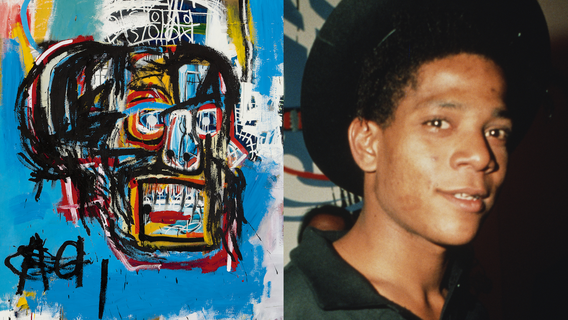 Jean-Michel Basquiat's sisters talk about growing up with the Brooklyn-born art icon | Black History Month - ABC7 New York