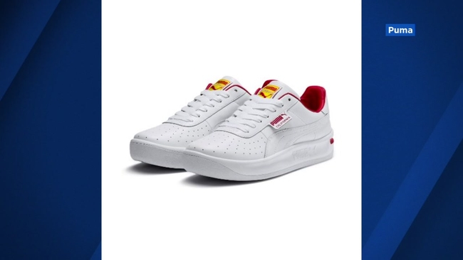 8615e5fcd92d Puma sneakers appear to be inspired by In-N-Out Burger