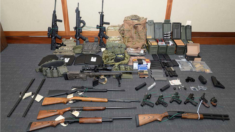 Feds arrest fascist Coast Guard officer who plotted to kill socialists and Democrats