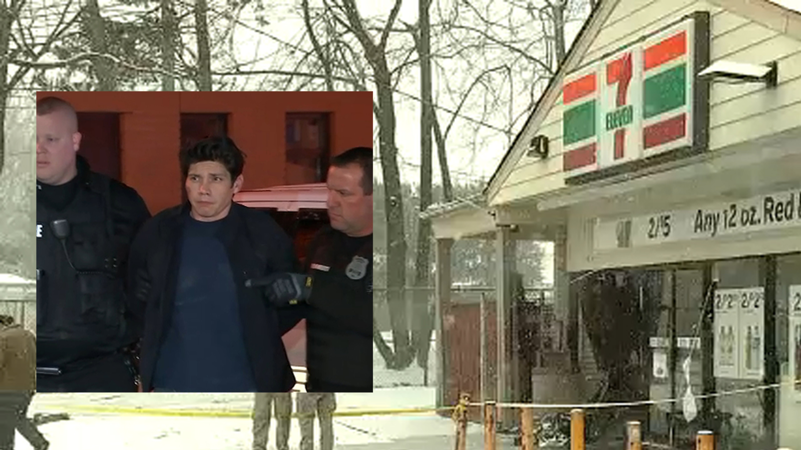 Police: Man intentionally ran down family of 8 outside New York 7-Eleven
