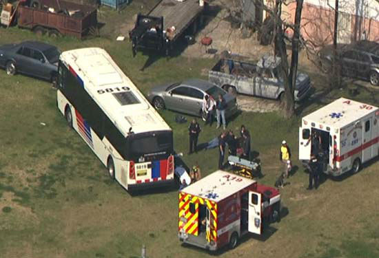 """<div class=""""meta image-caption""""><div class=""""origin-logo origin-image none""""><span>none</span></div><span class=""""caption-text"""">A METRO bus and at least one other vehicle were involved in an accident in northeast Houston. (KTRK Photo/ KTRK/SkyEye HD)</span></div>"""