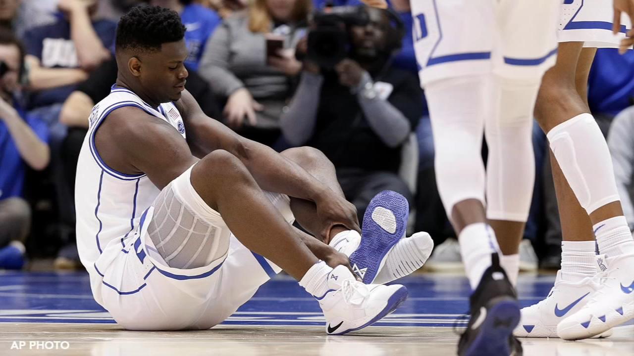 Duke basketball star Zion Williamson