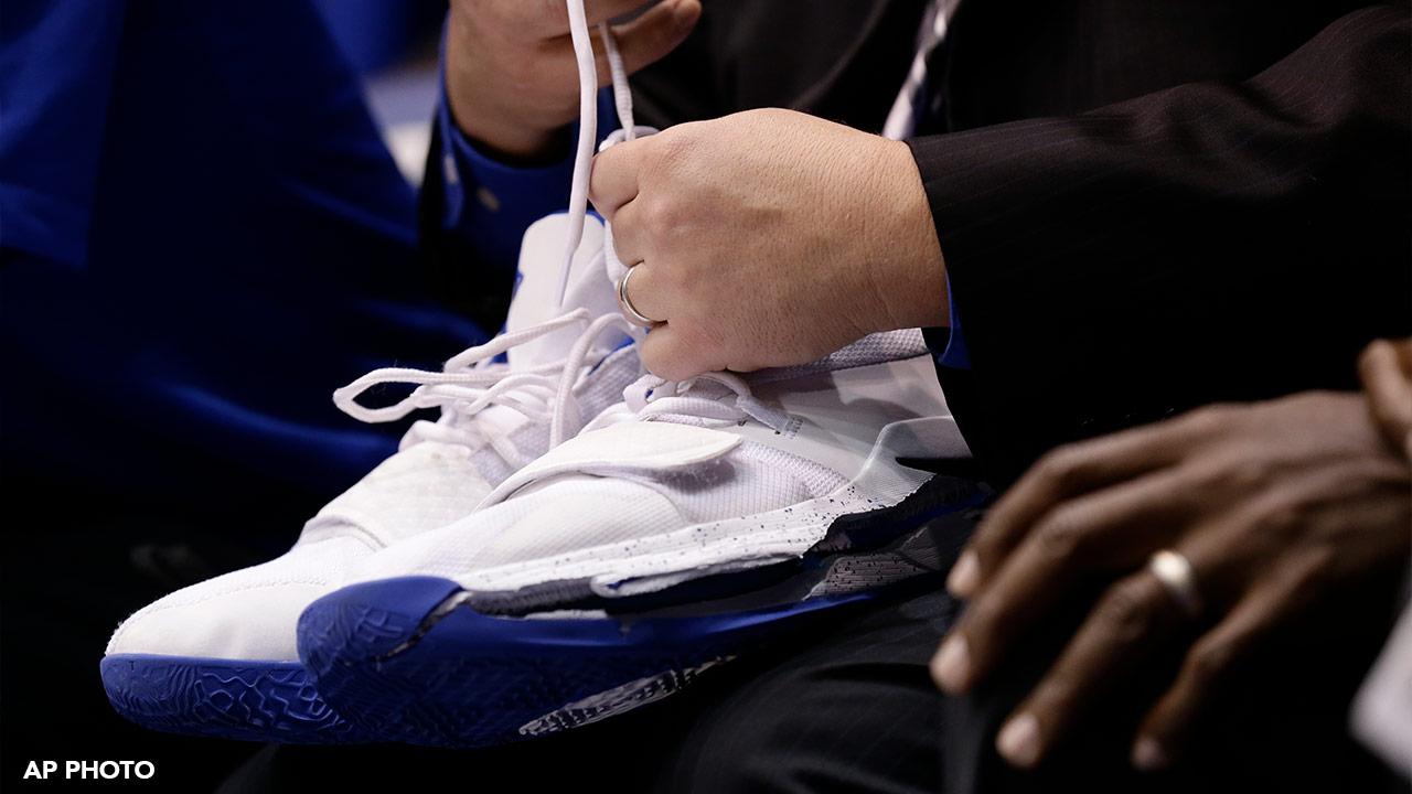 711c42b6043a Duke basketball star Zion Williamson sprains knee after Nike shoe ...