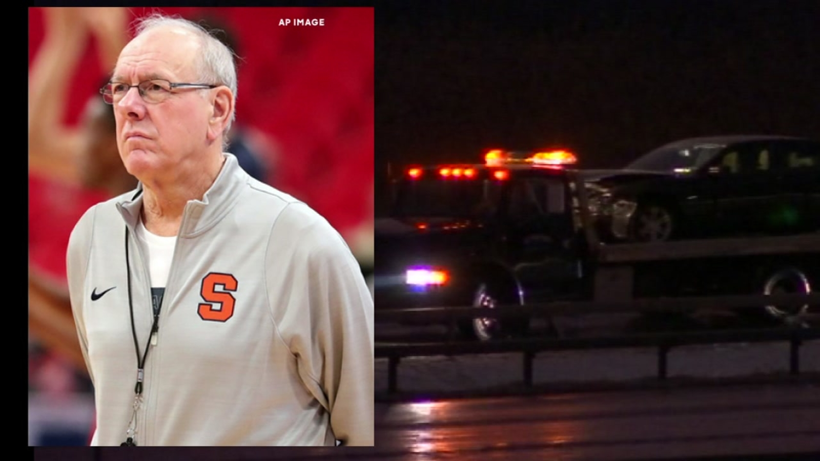 Police Syracuse Men S Basketball Coach Jim Boeheim Strikes Kills Pedestrian On Highway Abc7 Chicago