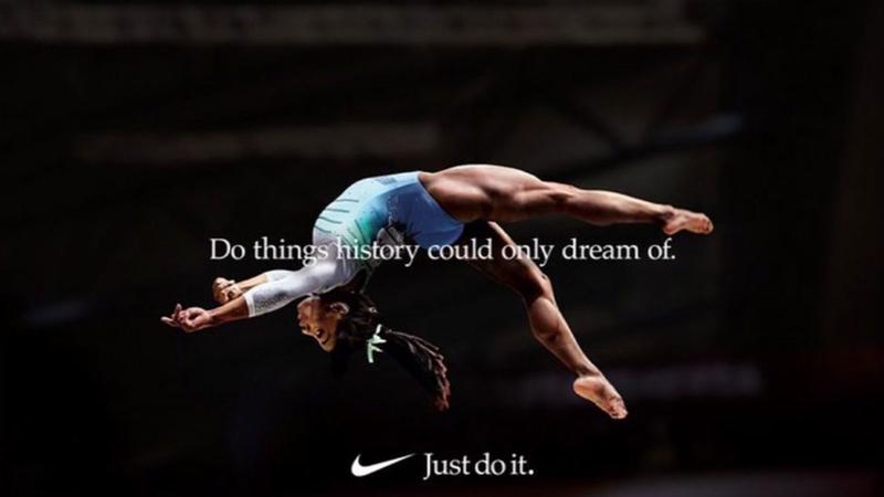pala Aplaudir Todos  Nike releasing all-female athletes ad feat. Simone Biles during Oscars -  ABC7 San Francisco