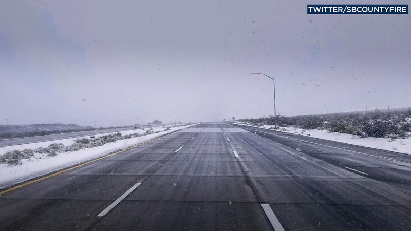 I-15 at Nevada-California line closed due to hazardous weather