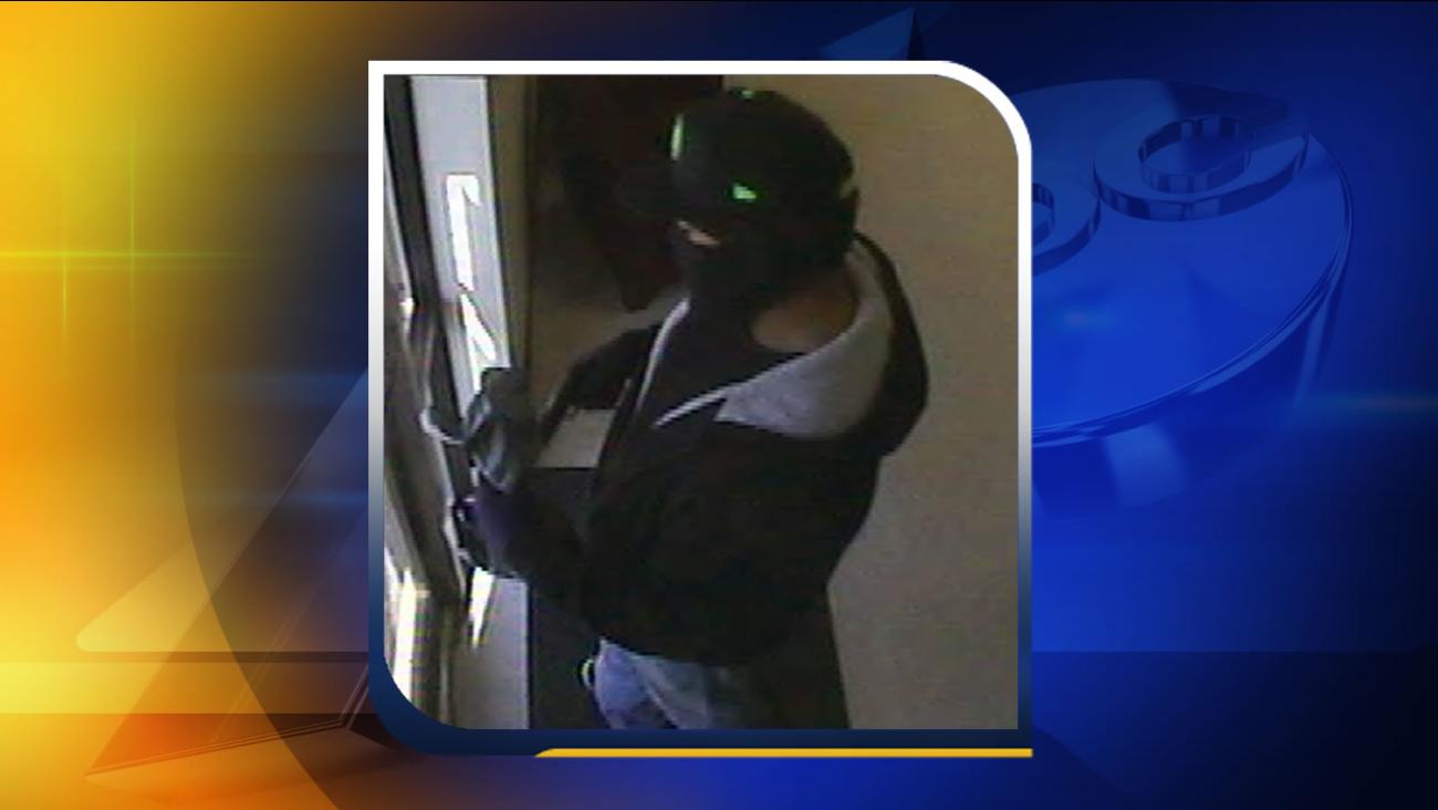 Princeton bank robbery suspect