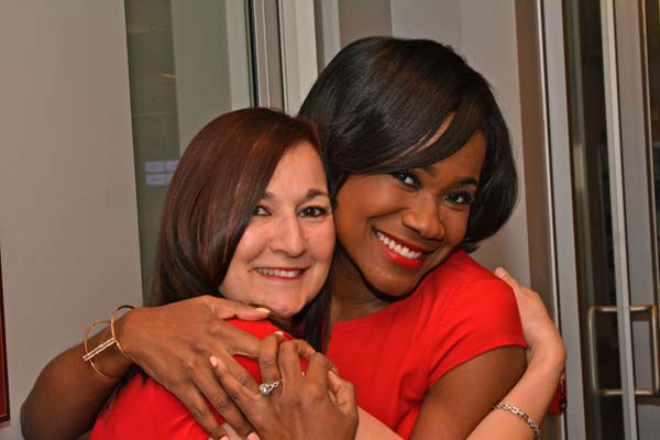 """<div class=""""meta image-caption""""><div class=""""origin-logo origin-image none""""><span>none</span></div><span class=""""caption-text"""">Samica Knight poses with CIndy Wallace is an executive assistant here at ABC-13 (KTRK Photo)</span></div>"""