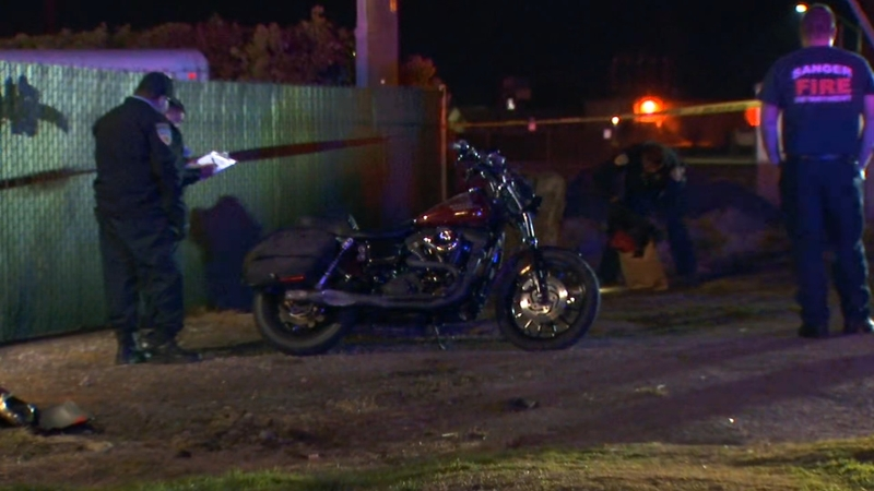 Motorcyclist dies after solo accident in Sanger
