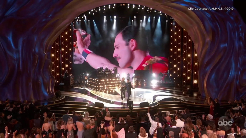 Adam Lambert Queen Rock The 2019 Oscars With Opening Performance Abc7 Los Angeles