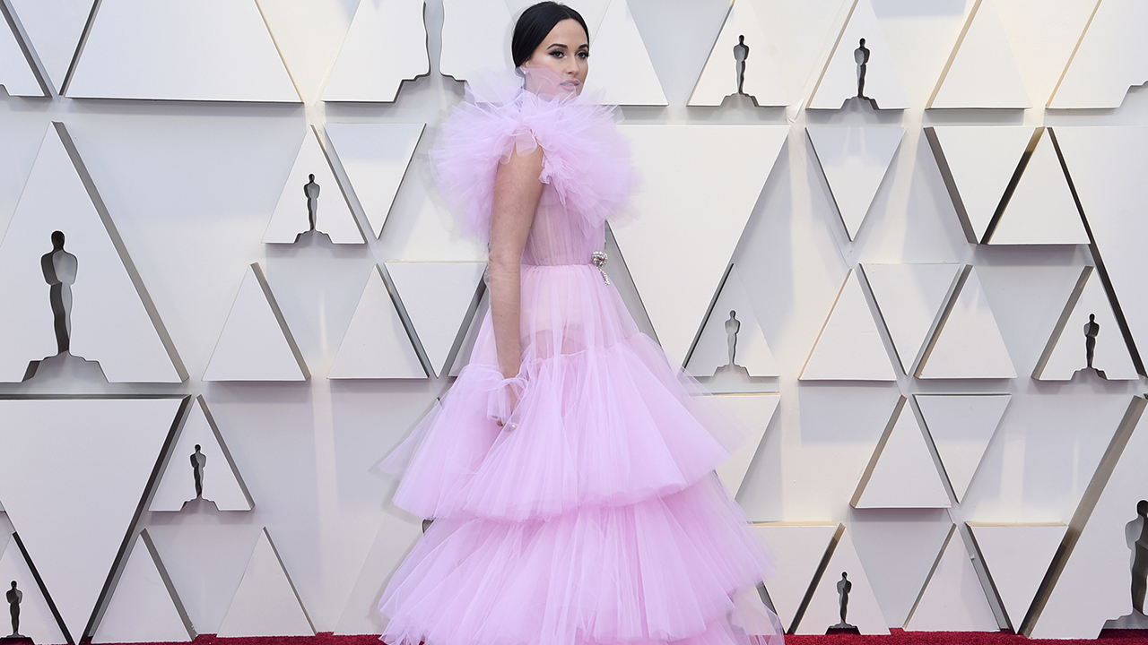 Kacey Musgraves arrives at the Oscars on Sunday, Feb. 24, 2019, at the Dolby Theatre in Los Angeles.