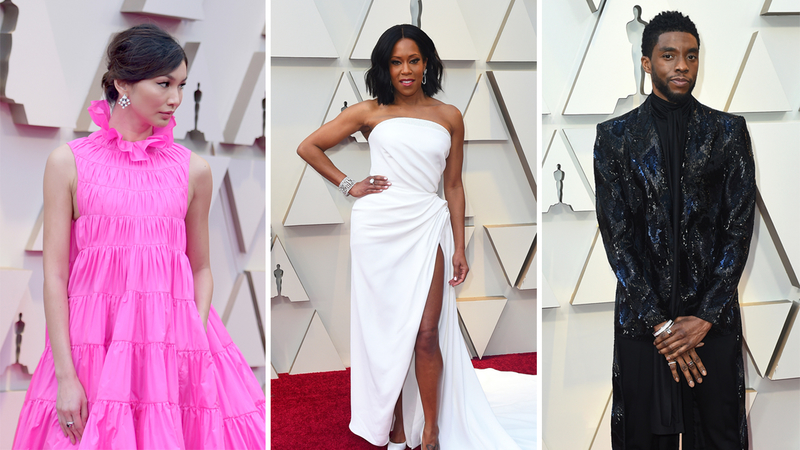 Oscars' best dressed on the red carpet