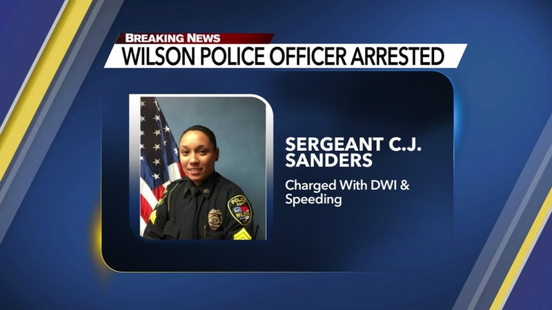 Wilson officer arrested for drunk driving in Johnston County