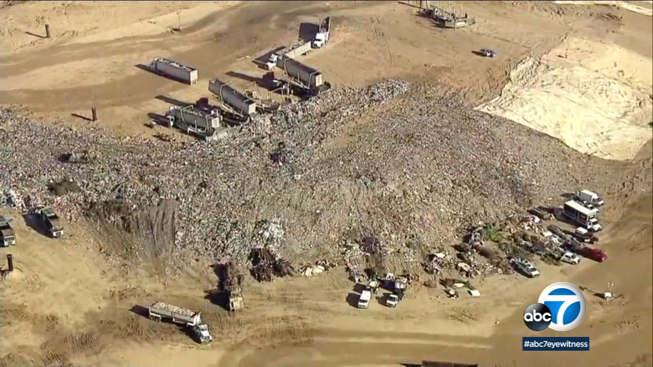 Investigators searched the El Sobrante Landfill in Corona, where they believe Jacson's body may have ended up.