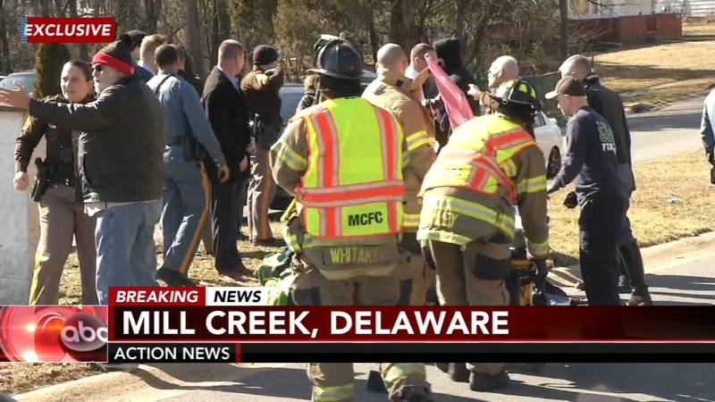 Delaware state trooper seriously injured in Mill Creek