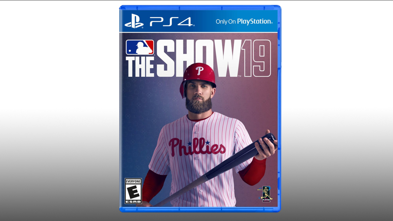 Bryce Harper Fronts Cover Of Mlb The Show 19 In Phillies