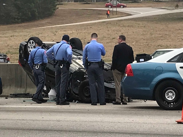 Raleigh police charge man after chase ends in crash on I-440 | abc11 com