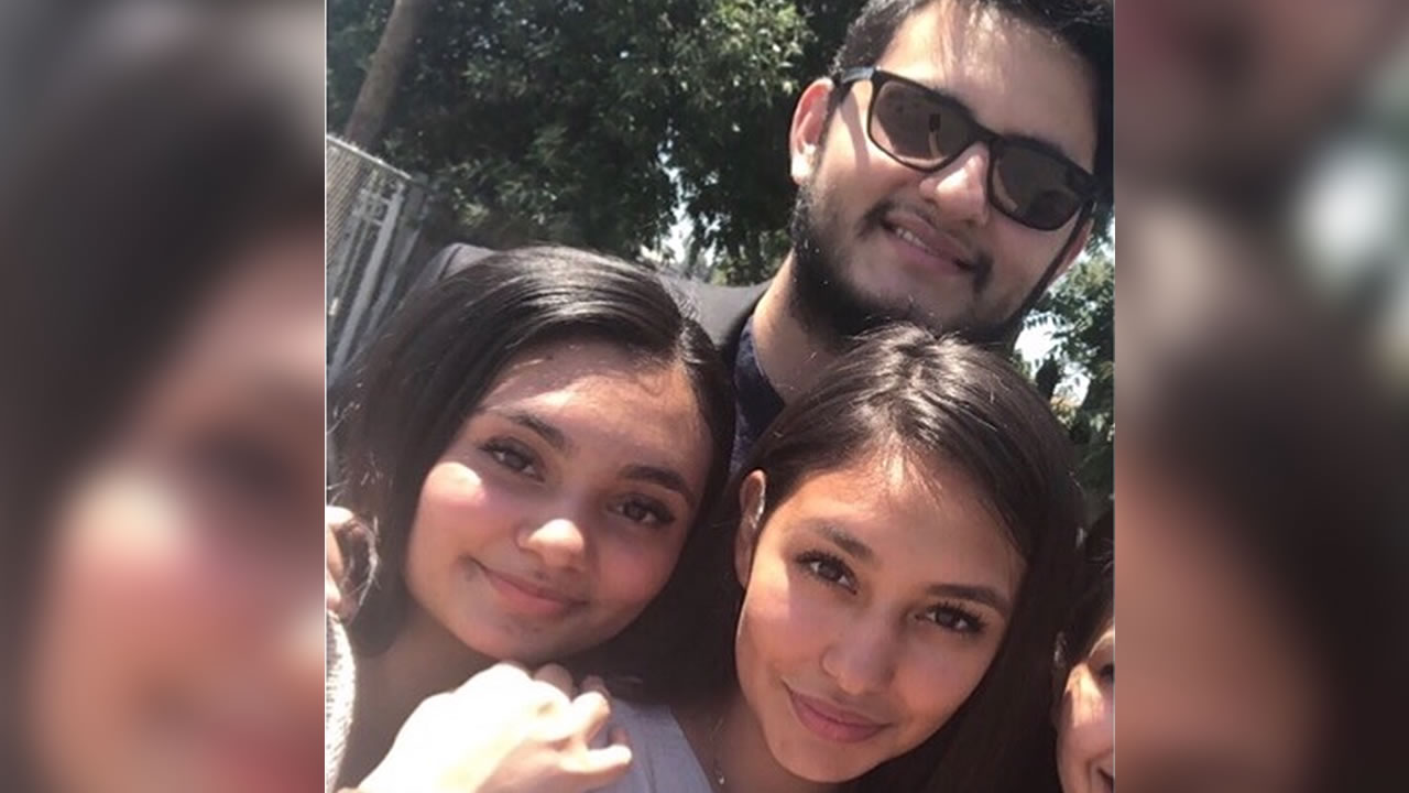 Eli, Sarah and Eva Villareal are pictured in this family photo.