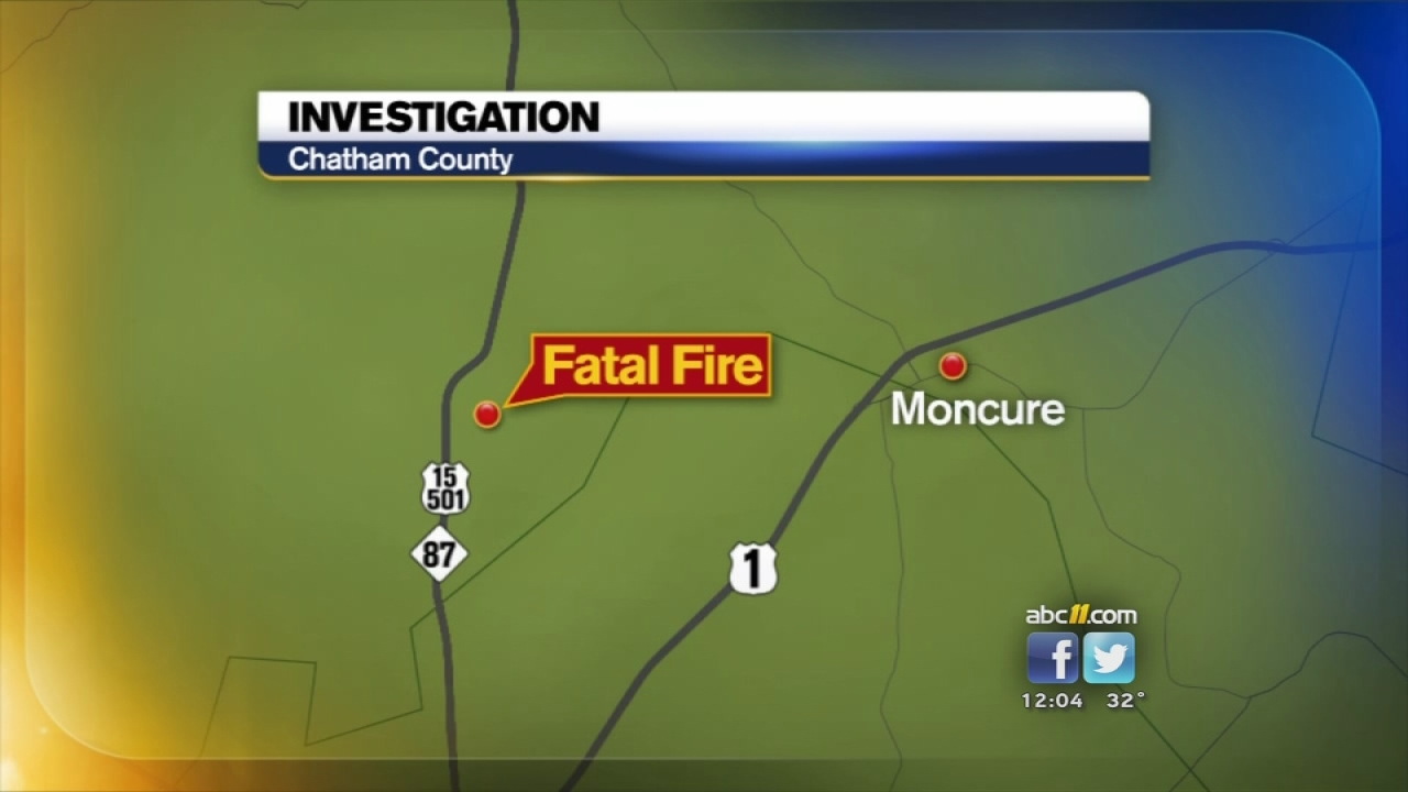 Man found dead in house fire north of Sanford
