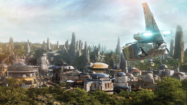 Image result for May the force finally be with you! New Disney Star Wars theme parks will open in California in May and Florida in August (and you can make your own light saber)