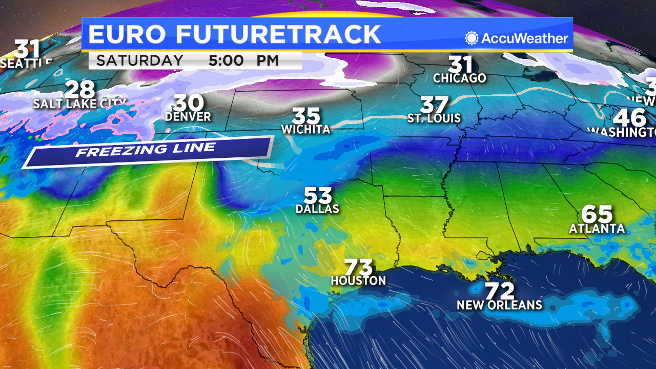 Houston Weather The Weekend Starts Warm Ends Cold Abc13com