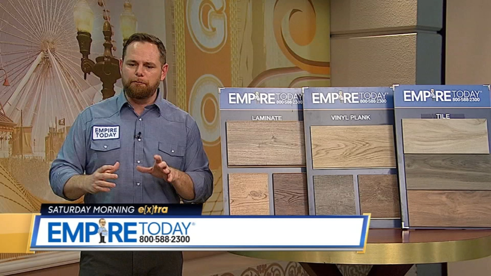 Saturday Morning Extra Latest Flooring Trends With Empire
