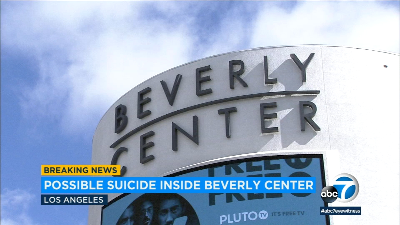 Reports of shots heard, possible suicide at Beverly Center