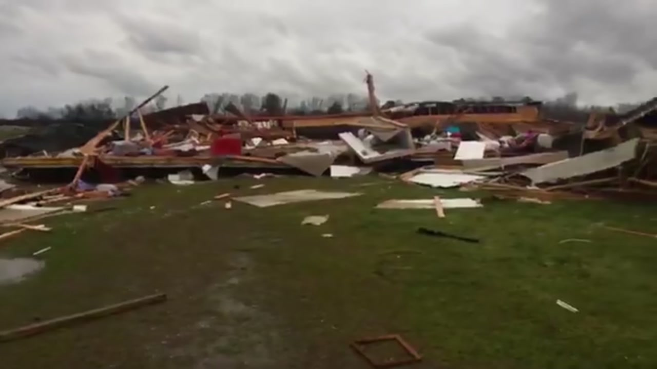 At least 23 dead in Lee County, Alabama as storms, tornadoes hit Deep South