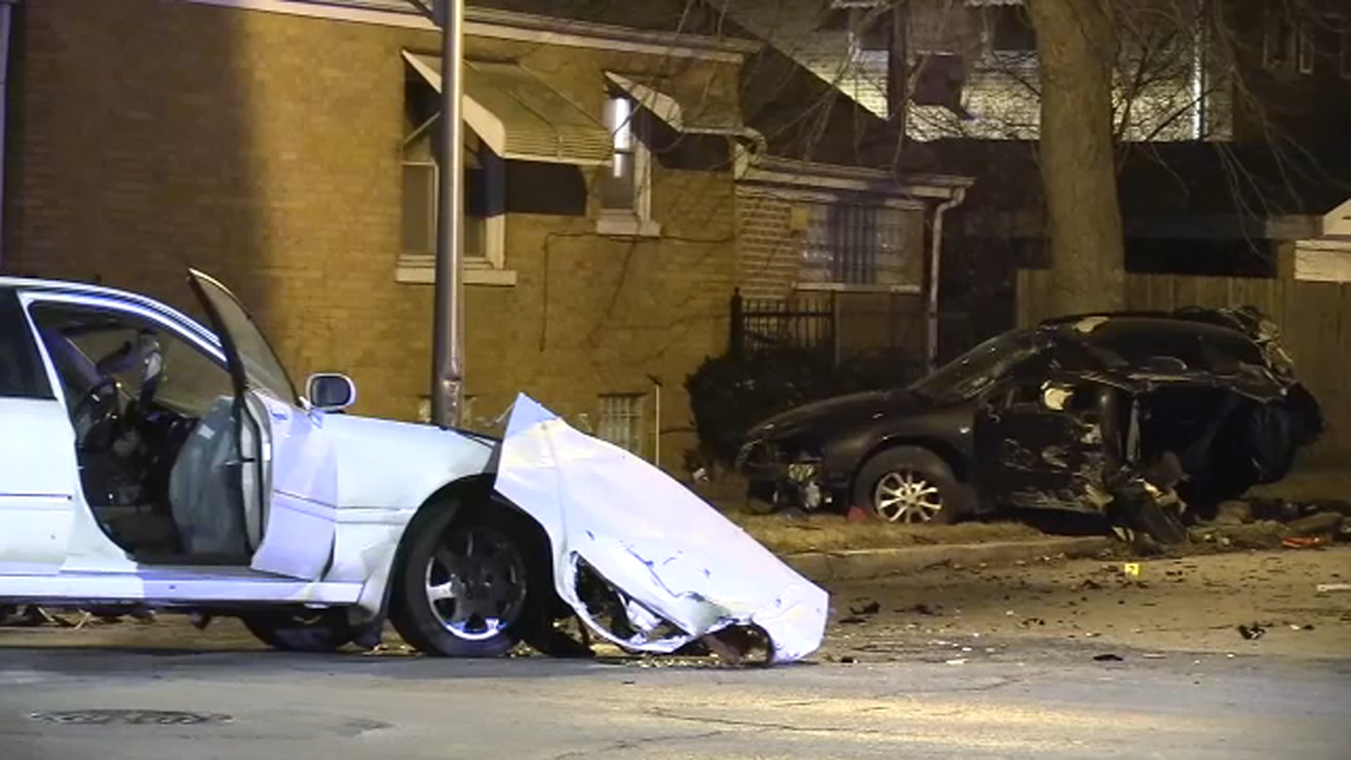 Girl, 2, Killed In Crash Involving Car Being Chased By