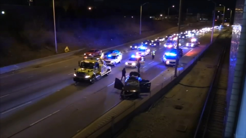 Off-duty CPD officer critically injured in I-290 crash