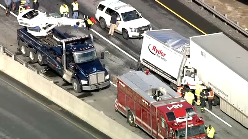 1 killed in crash on New Jersey Turnpike