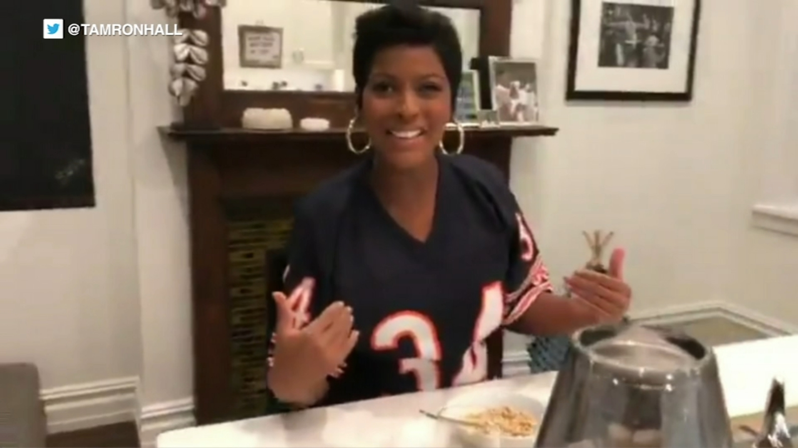 Tamron Hall Gives Birth To First Child Posts Instagram