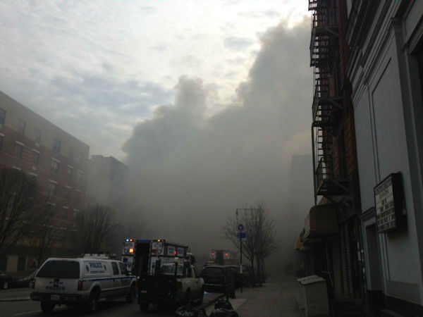 """<div class=""""meta image-caption""""><div class=""""origin-logo origin-image """"><span></span></div><span class=""""caption-text"""">Photos from Eyewitness News viewers and reporters of the explosion in East Harlem on Wednesday, March 12, 2014.</span></div>"""