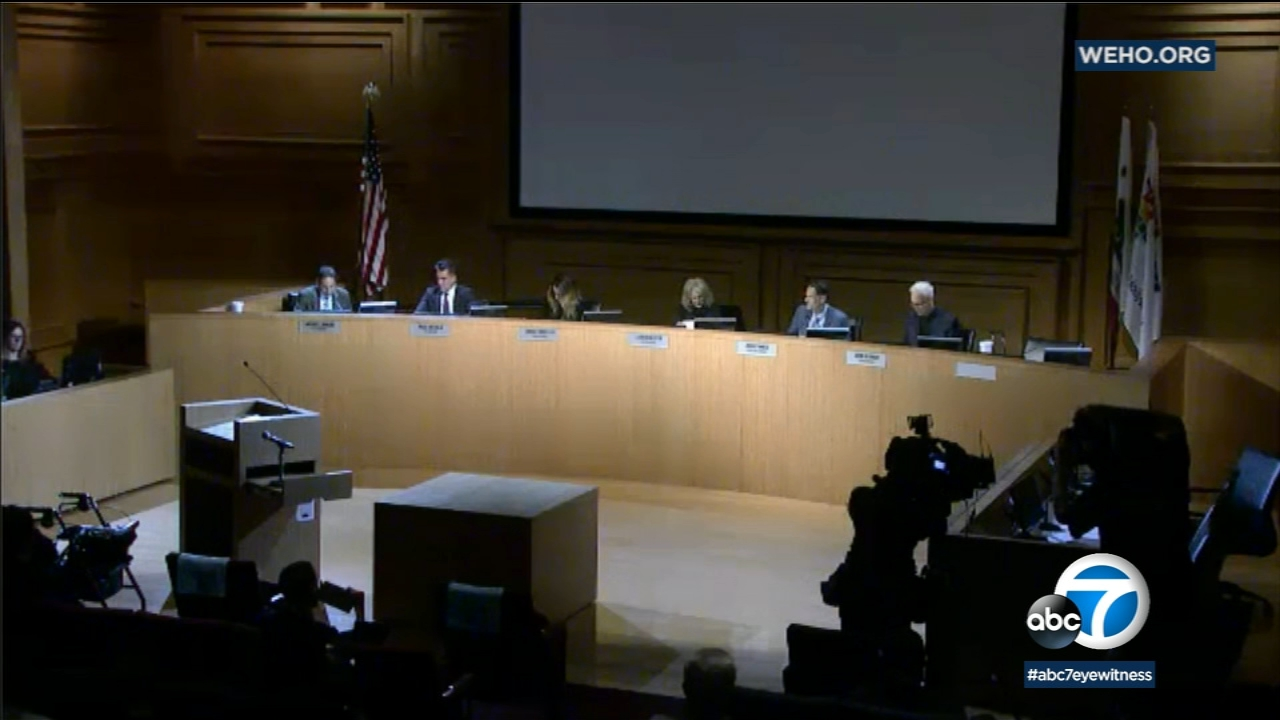 West Hollywood City Council Announce Resignation Of Mayor -7992