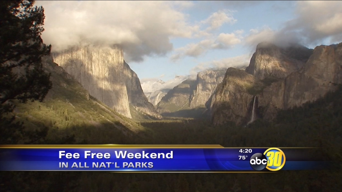 National parks offer free admission for President's Day weekend