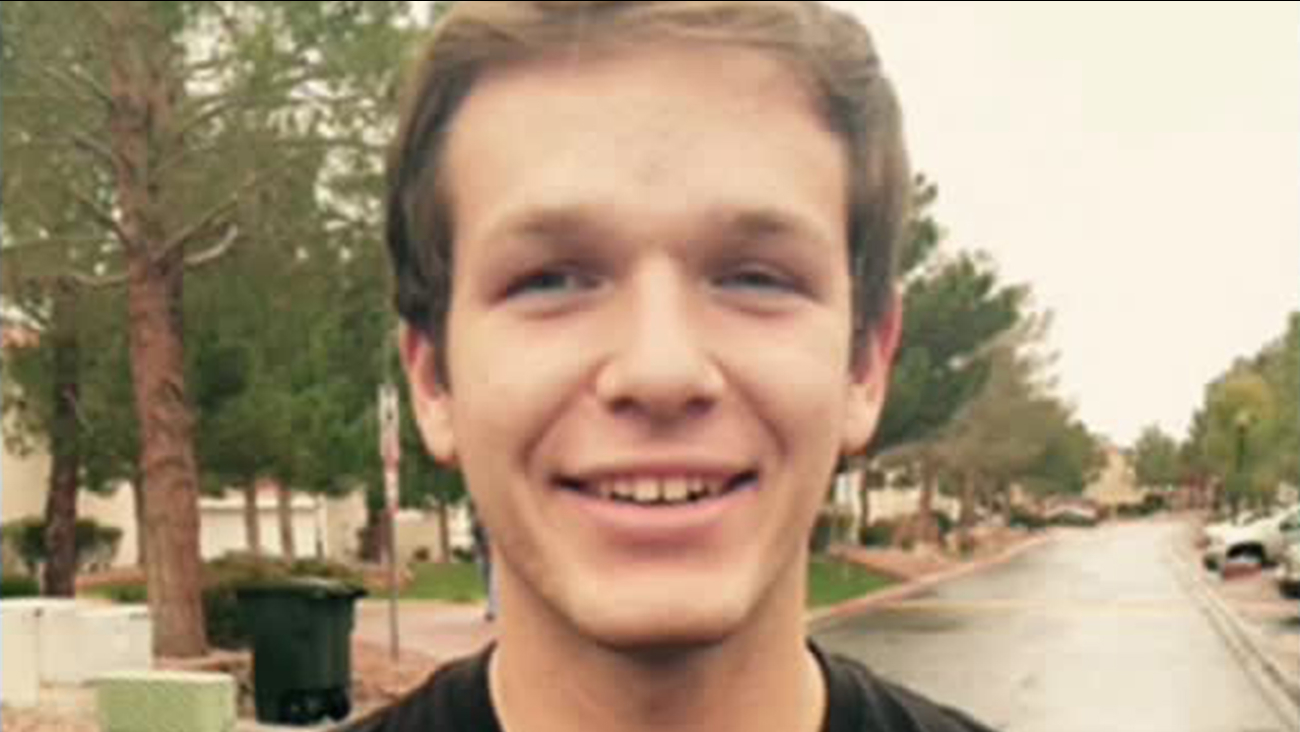 Anthony Parnell, 18, is shown in this undated file photo.
