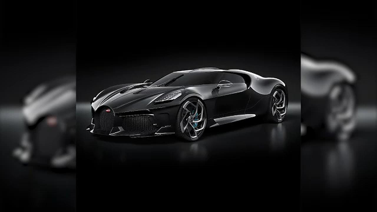 Bugatti S La Voiture Noire Sells As Most Expensive Car For