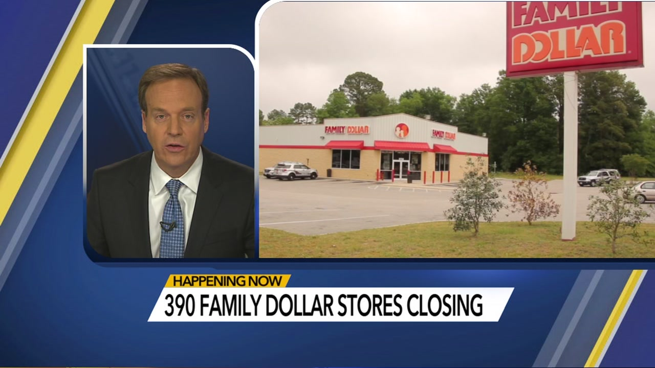 390 Family Dollar stores to close or be re-branded as Dollar Tree